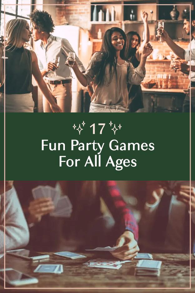 17 fun party games
