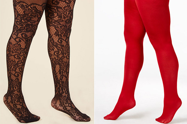 19 Pairs Of Plus Size Tights That People Actually Swear By