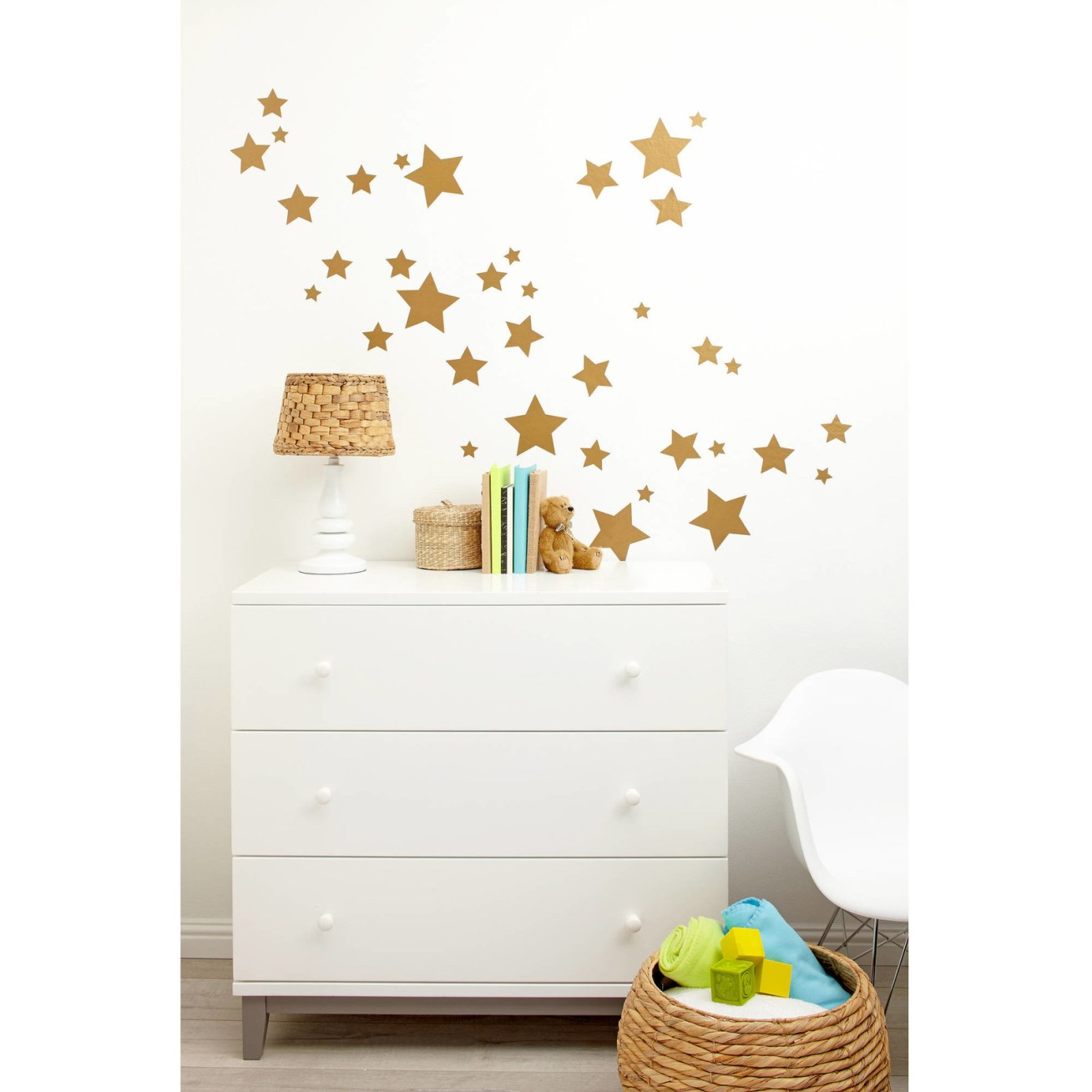 Includes three sheets with twelve stars of varying sizes each.Price: .90