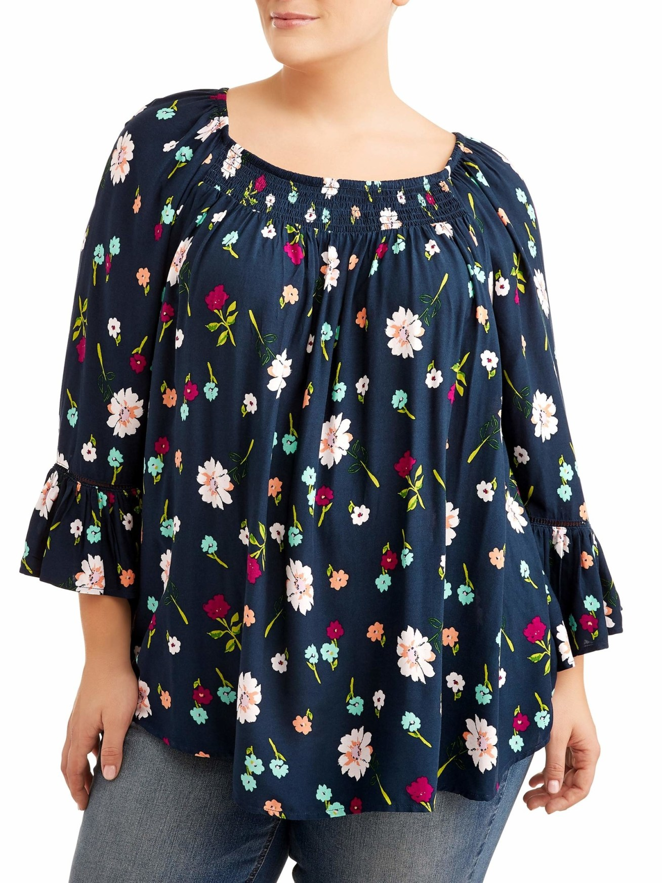 Price: .87 (available in sizes 0X–4X and eight patterns)