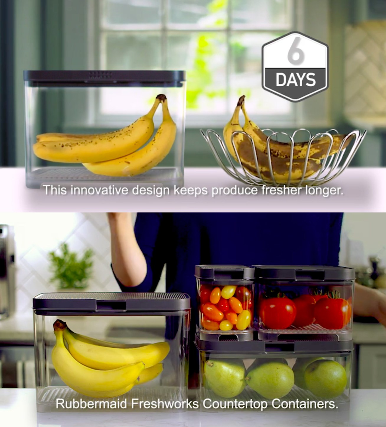 "Now, I haven't gotten my hands on these to test them out yet, but I promise I will! Based on the early reviews, it seems like they're pretty darn good... Promising review: ""As lovely as it looks, the day of the fruit bowl is over. With stainless steel kitchens this not only looks great but the savings of fresher longer makes perfect sense. I bought one and found it works so well and shows off produce so clearly and beautifully that I went back and bought three more."" —LazyDaisyGet them from Bed Bath & Beyond: the banana size for .99, the medium tomato size for .99, and a set of four of the smallest tomato size for .99. Or get a set with one medium tomato size and one small tomato size on Amazon for .79."