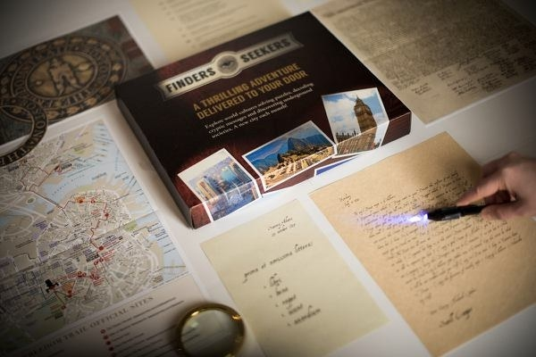 What you'll get: Each month you'll receive family-friendly, but still challenging, puzzles, codes, and cryptic messages with a themed location that'll allow you to explore a new city and culture, unpack new items depending on the mystery, and put your adventurous mind to work.Get it from Cratejoy for $27+/month.
