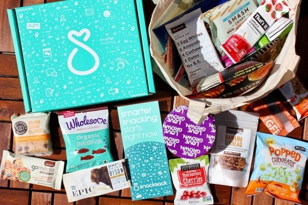 What you'll get: An assortment of 12 yummy snacks based on seasonal themes and flavors. You can choose to get them a classic box, a vegan box, or a gluten-free box.Get it from Cratejoy: SnackSack Classic for $21.50/month, SnackSack Vegan for $23.50/month, SnackSack Gluten-Free for $23.50/month, or SnackSack Workplace for $66.66/month.