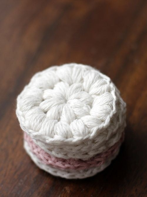 DIY Crocheted Cotton Rounds Instructions
