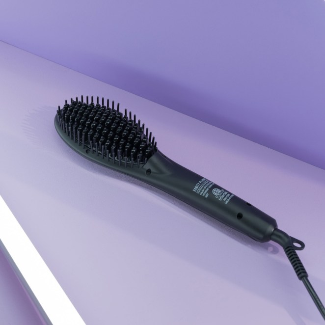 This styling brush has digital heat control from 170–370 degrees and a 360-degree tangle-free swivel cord.Price: $37.99 (originally $49.99)