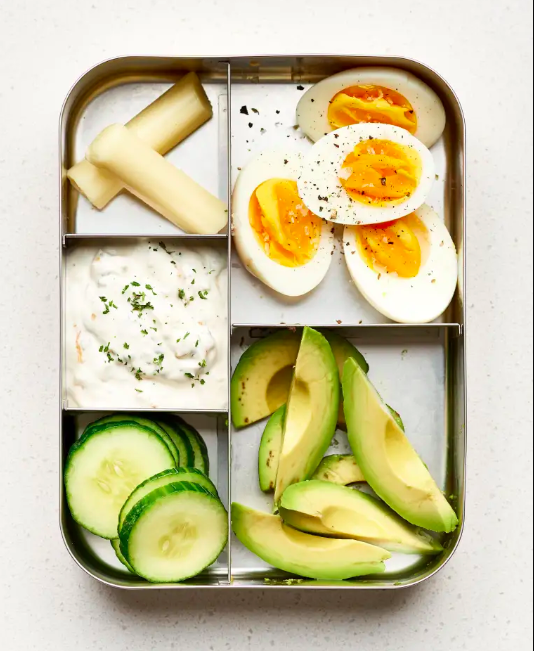 And let's not forget, you can always pack a bento box with a mix of your favorite low-carb ingredients. Recipes are for people with time, and some weeks, you have all the will power to stick to your low-carb or keto diet, but none of the time to actually make it presentable. For those weeks, I present to you the cute bento box, the instant way to make any random mix of ingredients office lunch-ready.Get a three-tiered, leak-proof lunch for $13.45 from Amazon here. And browse other styles here.