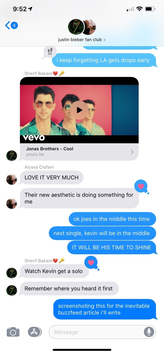 My love for the JoBros goes DEEP.