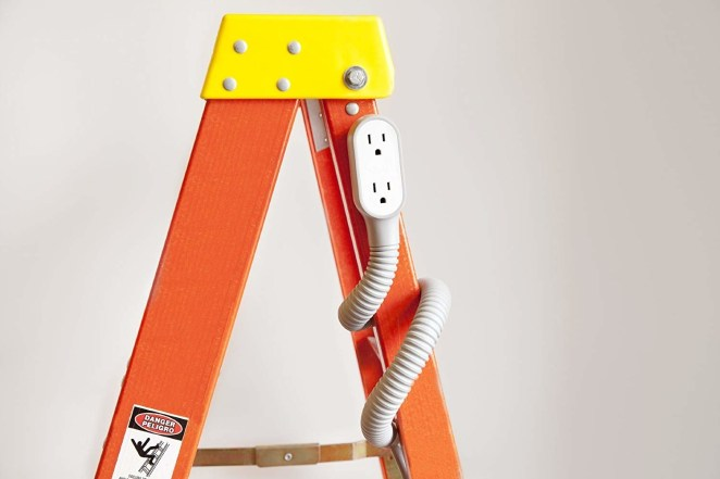 """Promising review: """"I have five of these cords now. They are the BEST thing ever. No more bending down low or trying to reach the outlet in the wall, from behind things. The plug is right there for you. I'm getting older, and have back issues, so these are SO wonderful and helpful for me. Love them. You can wrap them around pretty much anything and they stay! You will not be sorry with these. Get them for your parents/grandparents!! They will appreciate them!"""" —nancyGet it from Amazon for $14.39."""