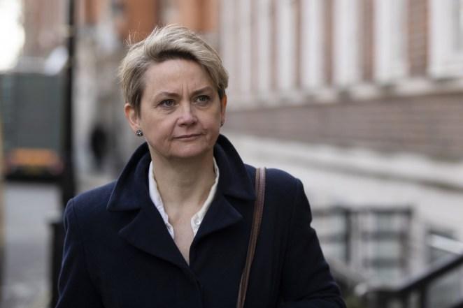Labour MP Yvette Cooper.