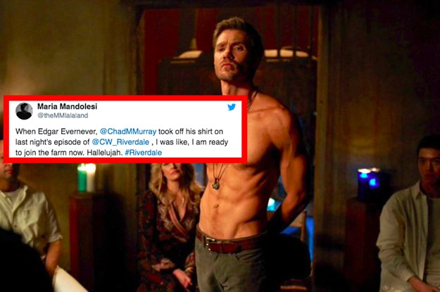 """19 """"Riverdale"""" Tweets That Aren't ONLY About Chad Michael"""