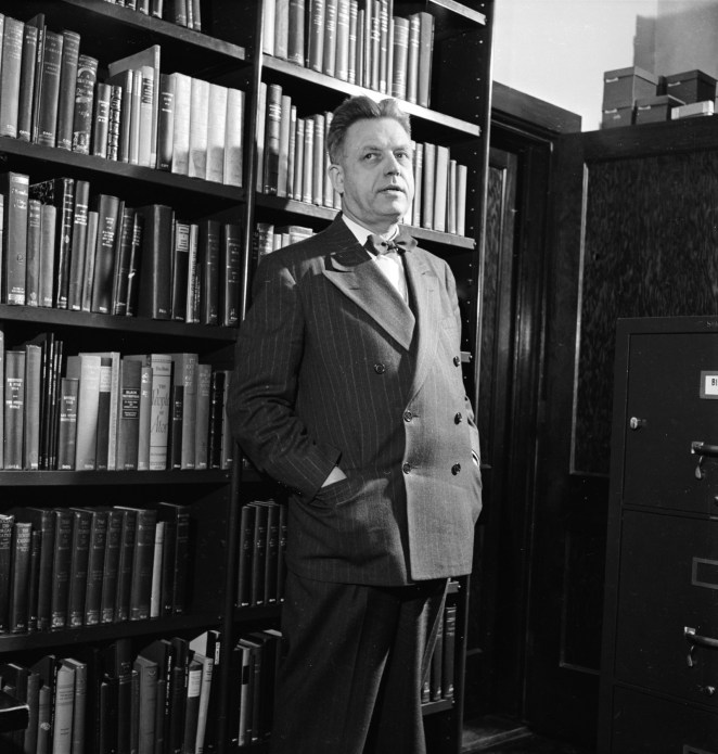 Alfred Kinsey (1894–1956), July 1948.