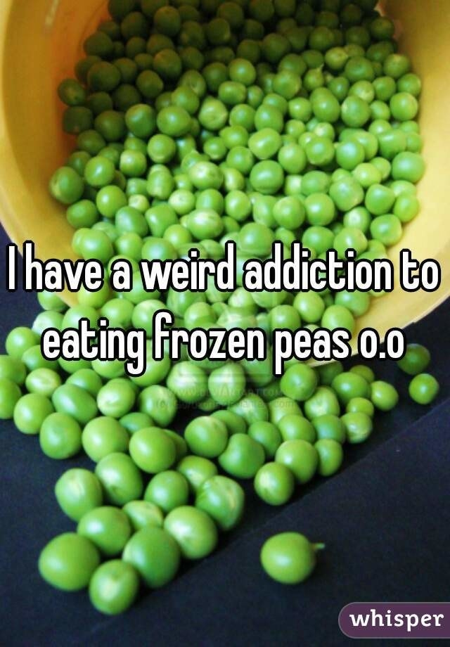 """This comment will probably be buried but frozen peas are the shit. My parents used to give them to us as babies and I recently started eating them again. They're cold, crunchy, and sweet. I literally just buy the frozen steamable packs and eat them from the bag. They're amazing. No one believes me irl but maybe a redditor will.""- silent-roar"