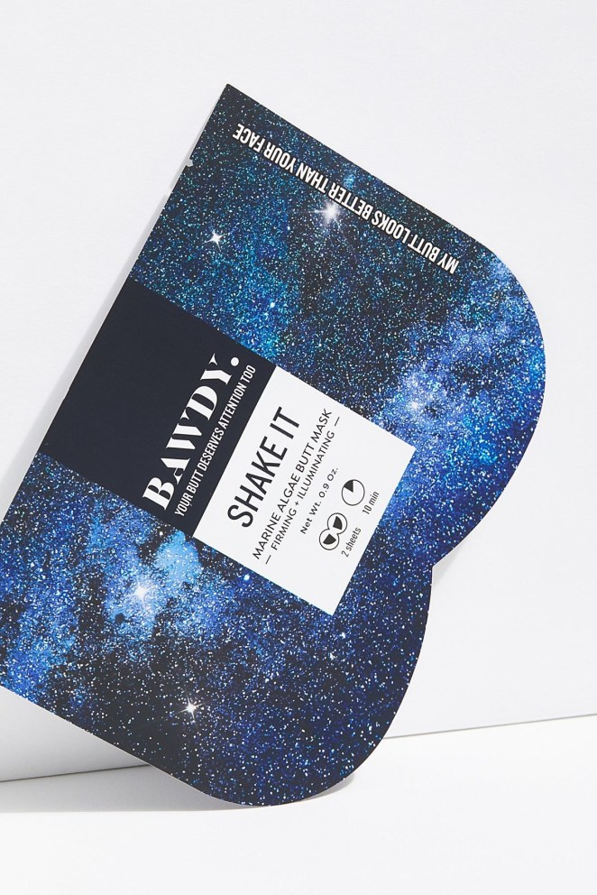 """Promising review: """"Put it on and relax — your behind is getting a great dose of beauty. Just like a face sheet mask, this butt mask makes the skin you might just sit on all day feel refreshed and renewed. I cannot recommend it enough."""" —snowycityGet it from Free People for $9 (available in four formulas)."""