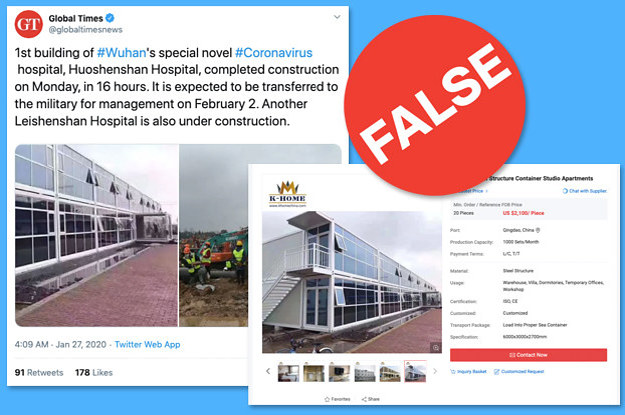 Chinese State Media Spread A False Image Of A Hospital For ...
