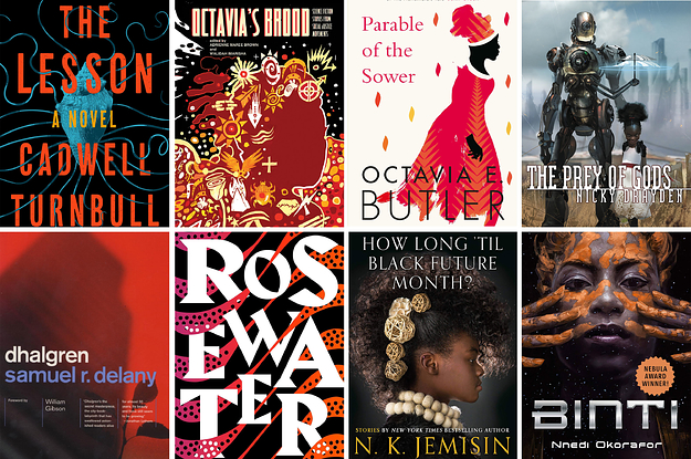 16 Books To Read If You Want To Get Into Black Sci-Fi And Fantasy