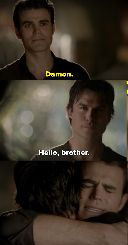 Damon Funny Moments : damon, funny, moments, Damon, Stefan, Vampire, Diaries, Moments