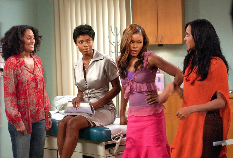 Joan, Toni, Maya, and Lynn at Toni's OBGYN appointment