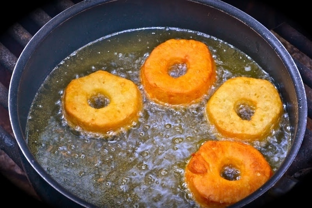 Since you're punching holes into the biscuits, you can make doughnut holes, too. Recipe here.
