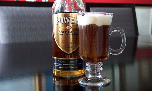A great way to start the morning, assuming you don't need the whipped cream. Recipe here.