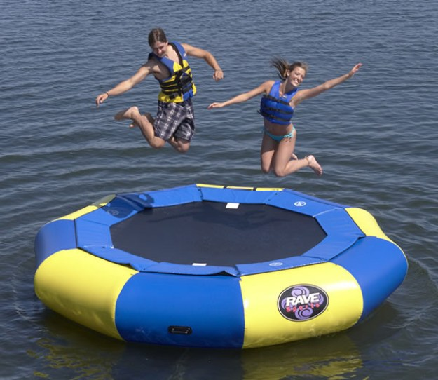 A Water Trampoline