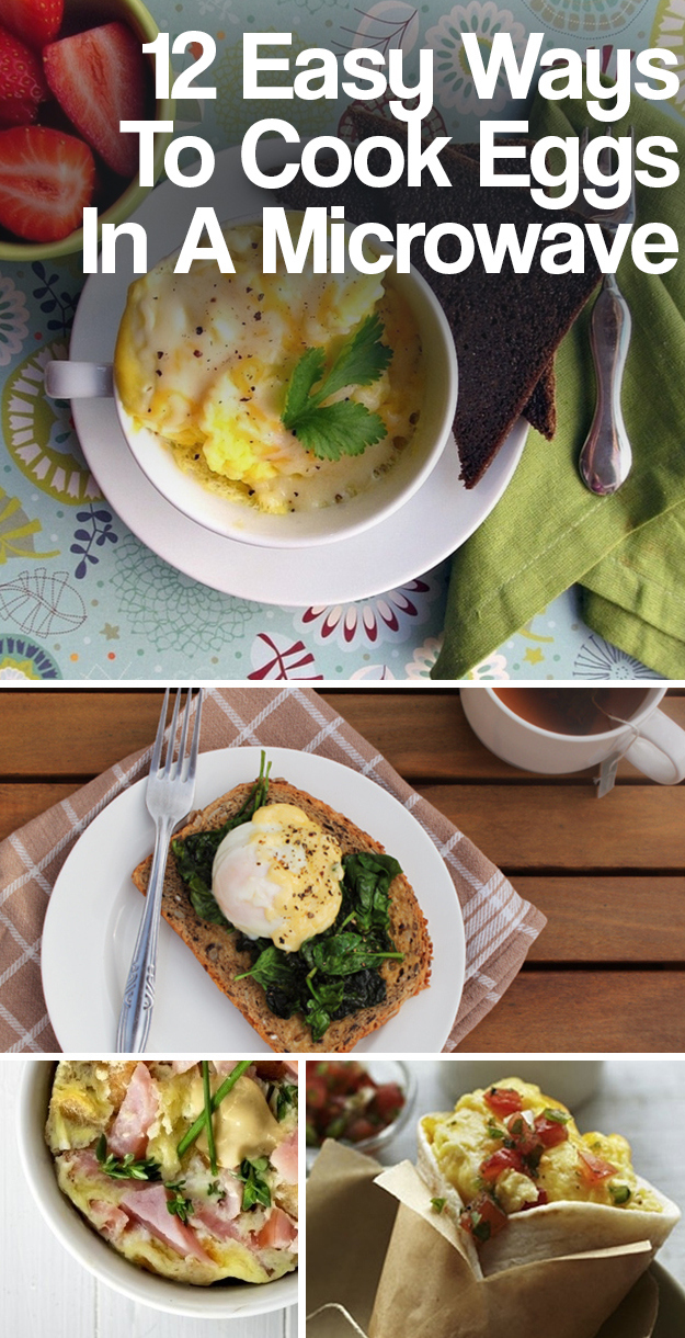 12 easy ways to cook eggs in a microwave