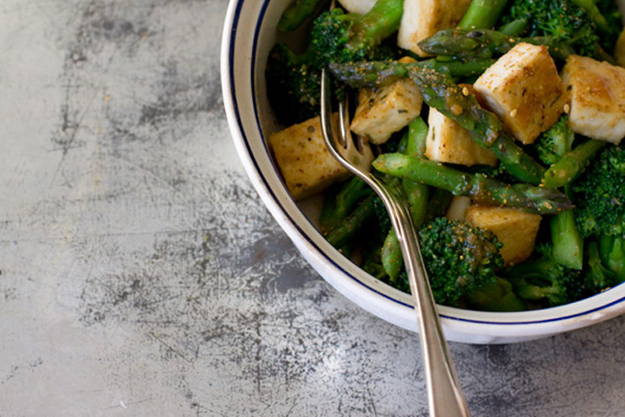 Tuesday Dinner: Miso Vegetables and Tofu