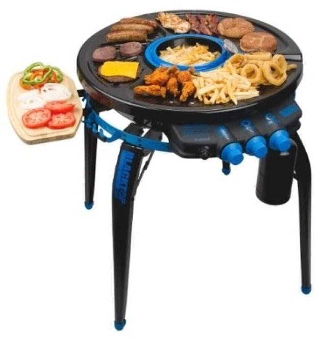 "Propane ""Party Hub"" Grill"