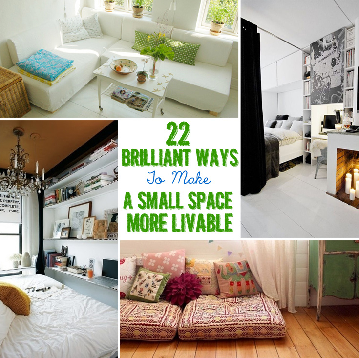 how to decorate a very small apartment living room tropical in spain 22 brilliant ideas for your tiny share on facebook