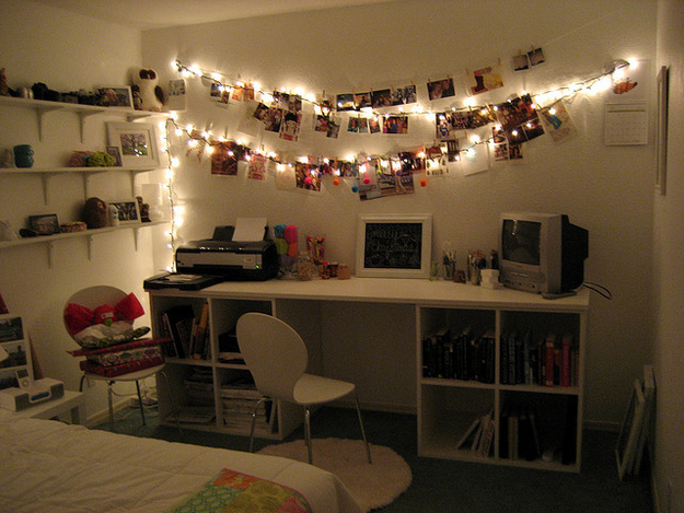Inviting Dorm Room