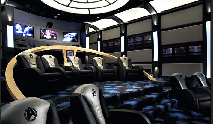 Home Theater Wall