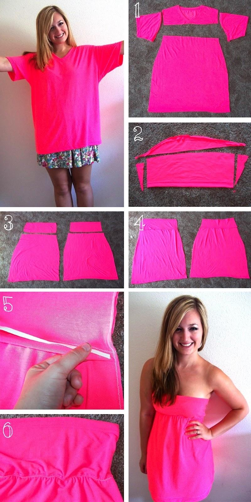 How To Turn A Tshirt Into A Tube Top : tshirt, T-Shirt, Perfect, Summer