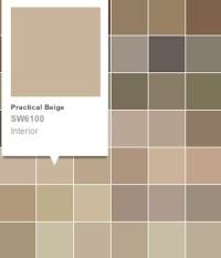 The gallery for --> Practical Beige Sherwin Williams