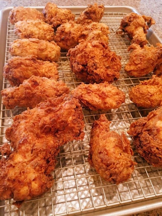 American Buttermilk Fried Chicken Recipe by Tasty