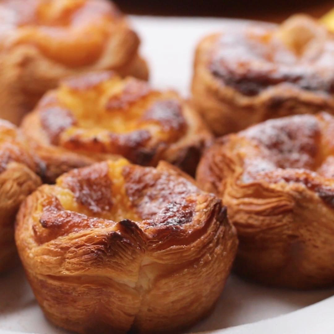 Portuguese Custard Tarts Recipe by Tasty