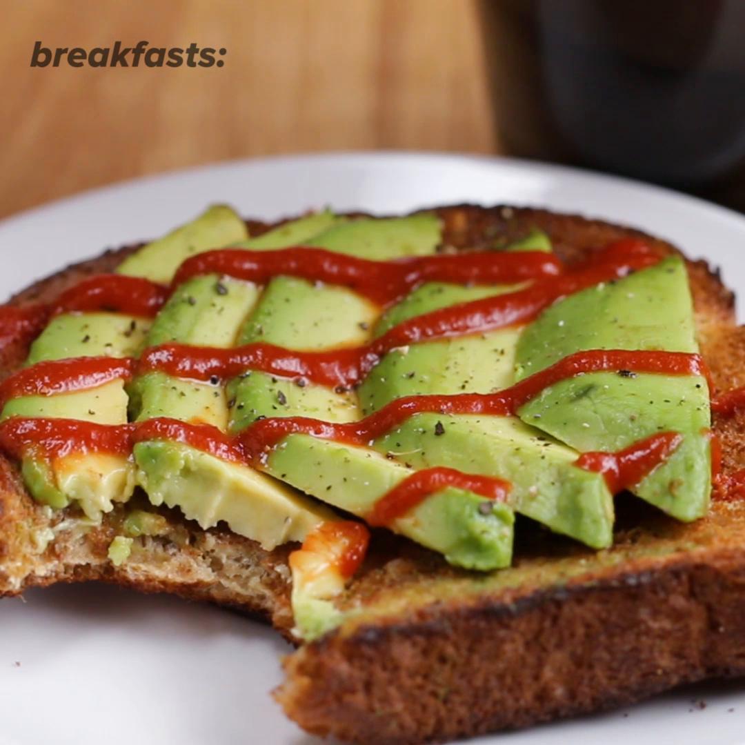 avocado toast recipe by