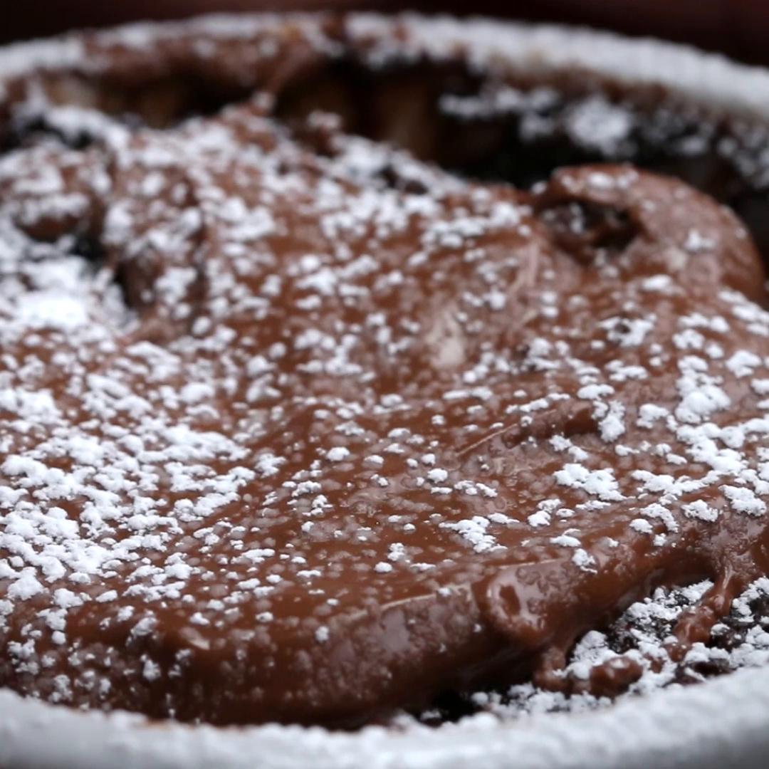 chocolate mug cake recipe by tasty