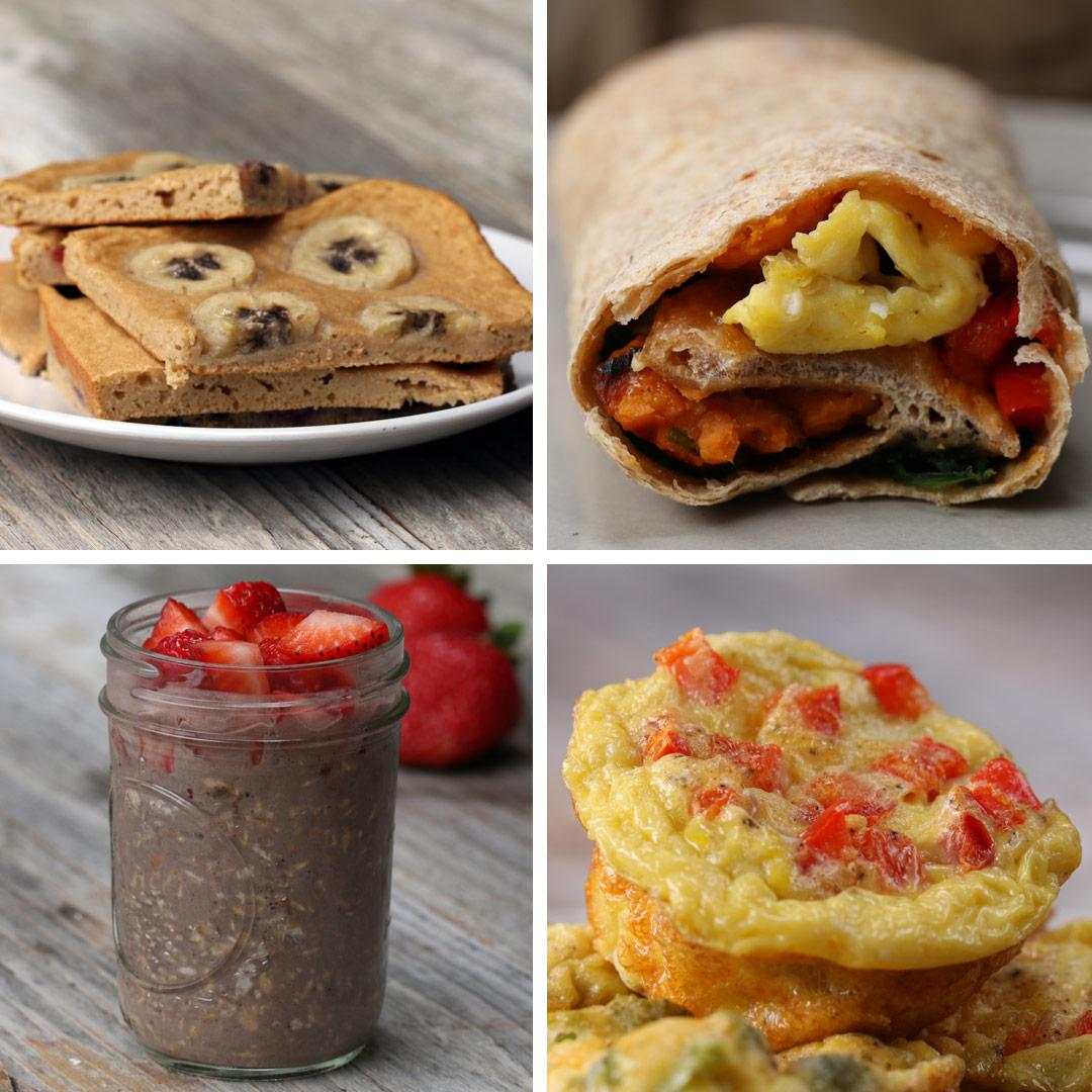 5 Healthy Breakfast Meal Prep Recipes