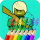 Ninja Coloring Book for Kids for PC