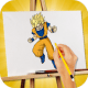 How To Draw Goku for PC