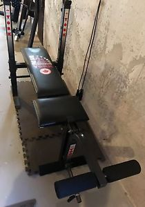 York Space Saver 210 Workout Bench Posot Class