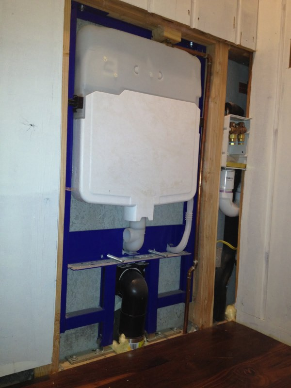 Wall Mounted Toilet Install And Discussion