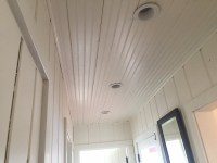 White Beadboard Ceiling Pictures | Mail Cabinet