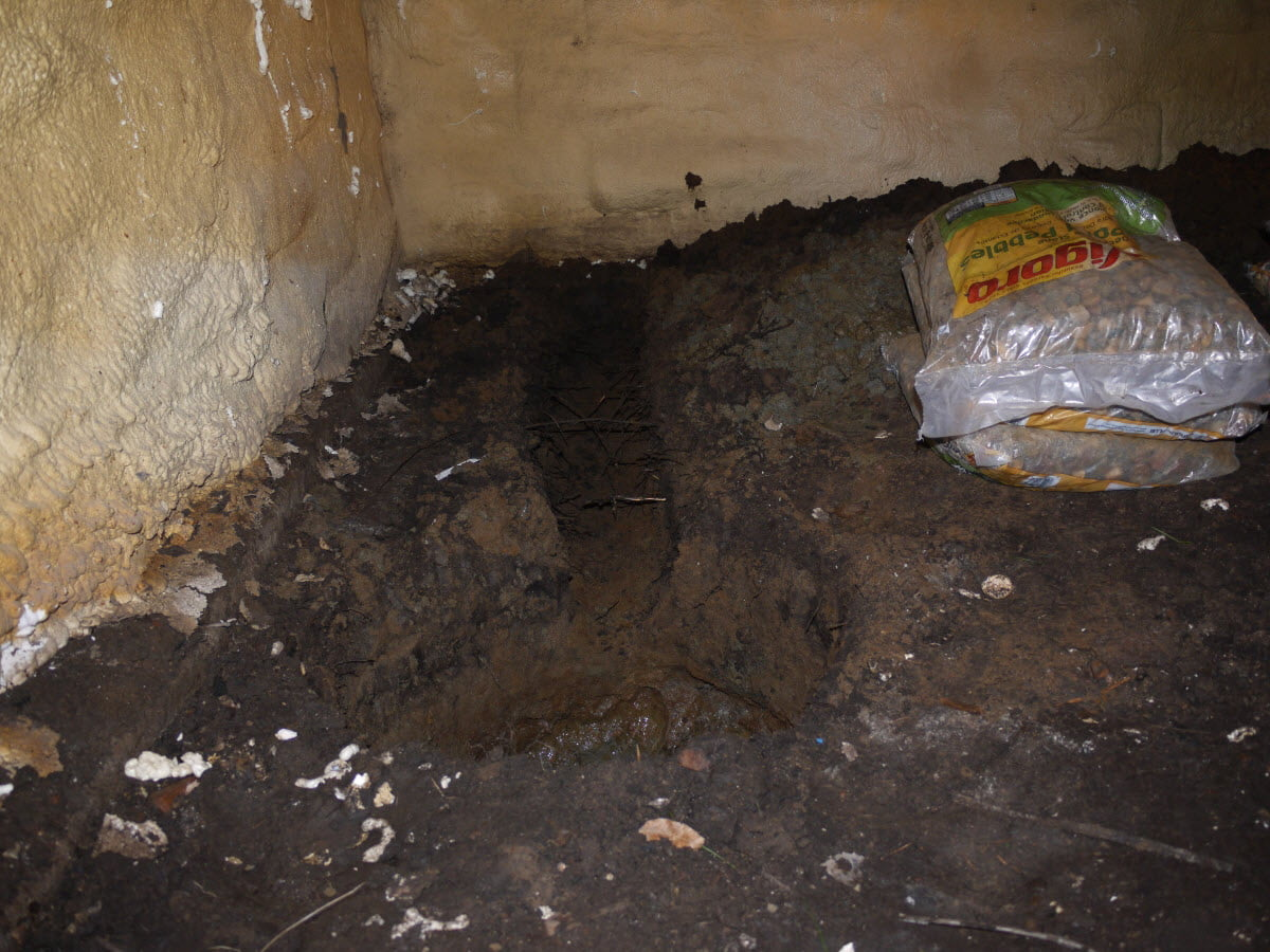 crawl space sump pump install how to