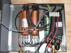 Tankless Water Heater Cabin DIY