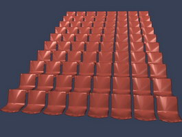 theater chair accessories office not staying up 3d model free download - cadnav.com