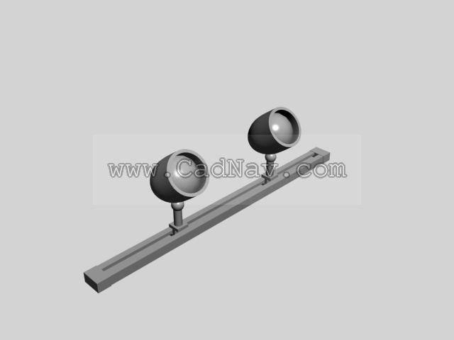 commercial kitchen ceiling tiles floating shelves track spot lighting 3d model 3ds max files free download ...