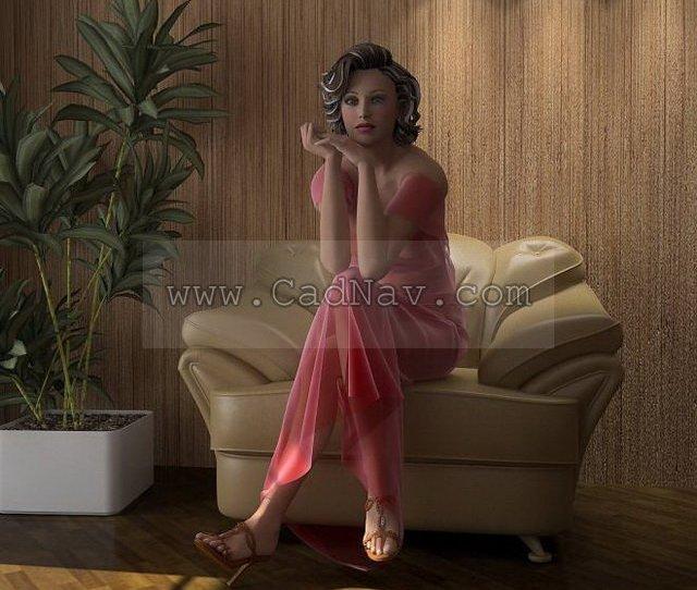 Sexiest Women 3d Model