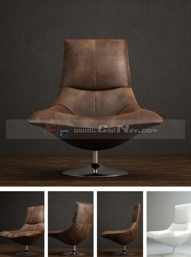 modern plastic chair ghost knock off antique leather tulip 3d model 3dmax files free download - modeling 3374 on cadnav