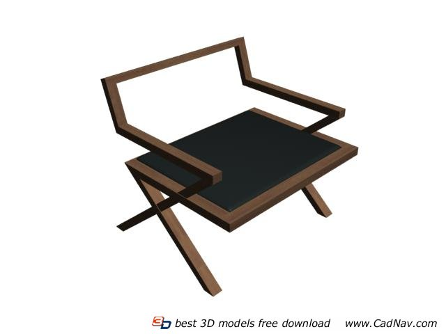 wooden corner chair for toddlers classic wood 3d model 3dmax files free download