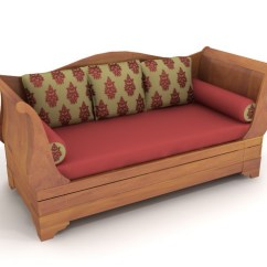 Modern Wooden Sofa Set Designs For Living Room Cheap Quality Bed 3d Model 3dsmax Files Free Download ...